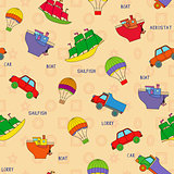 Seamless various transport pattern