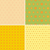 Four Seamless Wallpaper Pattern