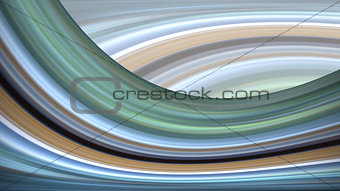 Abstract blue and green wave background.
