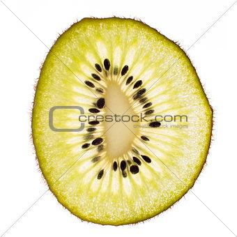 One kiwi slice