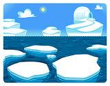 Polar scene.