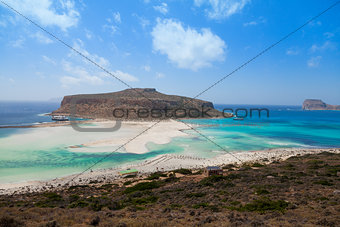 Balos island, Crete, Greece