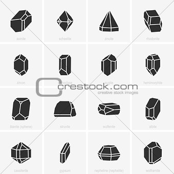 Crystal icons