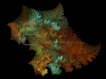 Fractal - colours of outumn