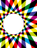 Rainbow Spirograph Background