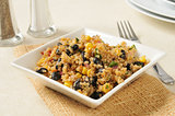 Black bean and quinoa salad