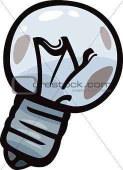old bulb junk cartoon illustration
