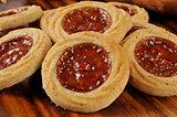 Gourmet fruit filled cookies