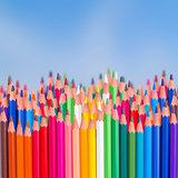 back to school pencils  border