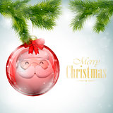 Christmas Card eps10 vector illustration