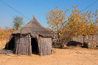 Rural African hut