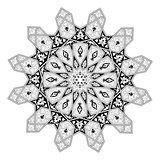 Arabian floral pattern motif