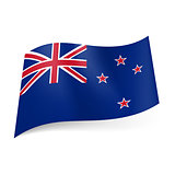 State flag of New Zealand.