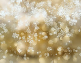 Snowflakes and stars 2308