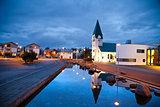 Hafnarfjordur, Iceland.