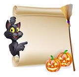 Halloween Scroll Sign