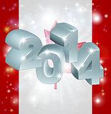 2014 Canada flag