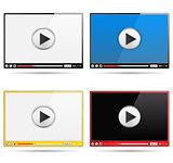 Video Players Set