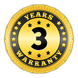 Three Years Warranty