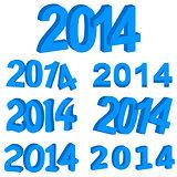 Blue 2014 set