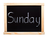 Days of the week: sunday