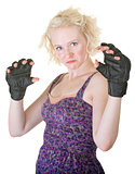 MMA Fighter in Dress