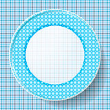 image dishes with a pattern on a napkin
