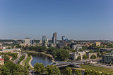 View over Vilnius new town