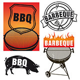 sign barbecue grill