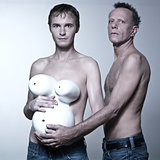 gay pregnant couple