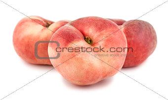 Three paraguayos flat peaches