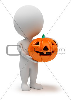 3d small people - Halloween