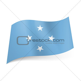 Flag of Micronesia.