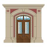 entrance portal type1
