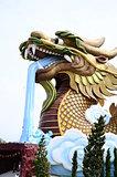 Dragon statue.