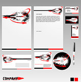 Corporate Identity Template in Vector