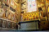 Baroncelli Chapel in Basilica di Santa Croce. Florence, Italy