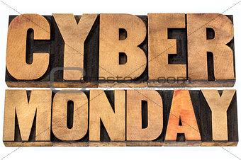 Cyber Monday shopping concept