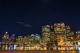 darling harbour in sydney australia