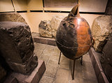 Ancient Pot and Stone reliefs