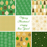 Christmas patterns collection 4
