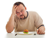 Man desperate for not having enough to eat