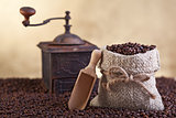 Coffee beans abundance