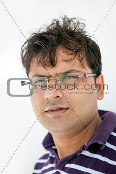 Portait of indian man