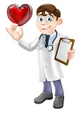 Cartoon Heart Doctor