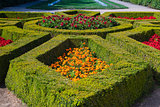 Garden park in Dobris