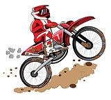 Enduro Biker