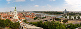 Panorama of the city of Bratislava