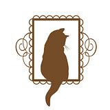 Vintage Cat Design