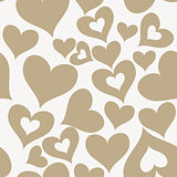 valentine seamless hearts pattern